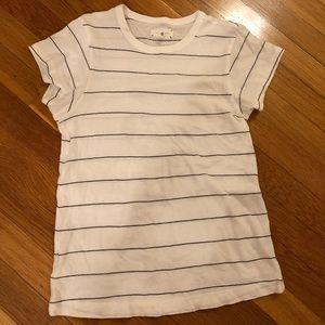 White striped Lou & Grey t shirt